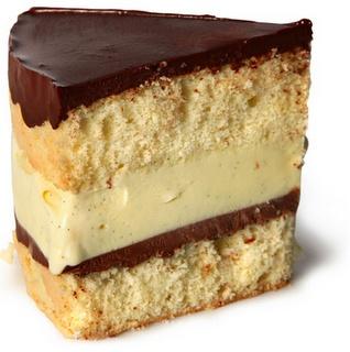 Boston Cream Cake | CAKE RECIPES | Pinterest