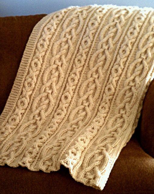 Free Aran Afghan Knitting Patterns : Aran afghan Crochet Pinterest
