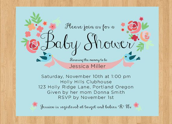 Do It Yourself Baby Shower Invitations can inspire you to create best invitation template