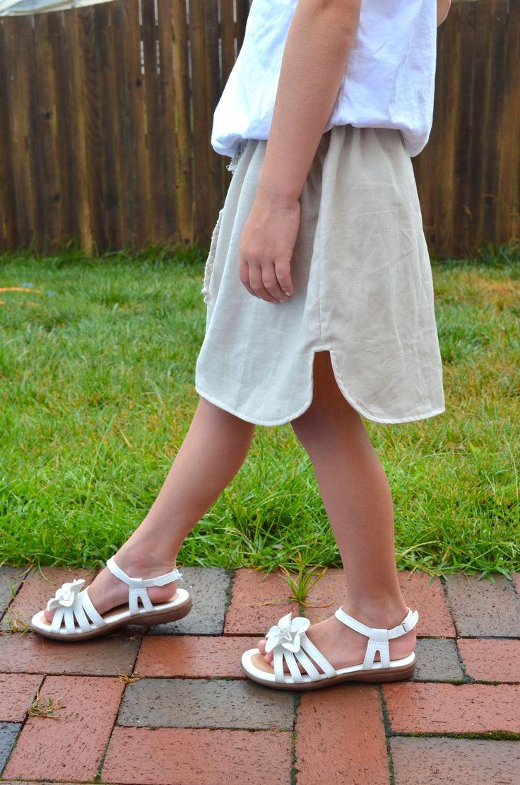 Breezy Linen Skirt tutorial - crafterhours