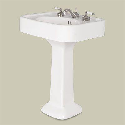 ... Pedestal Sink bargain Steal for vintage character restoration