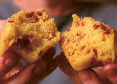 Cornmeal-Cherry Muffins | Recipe