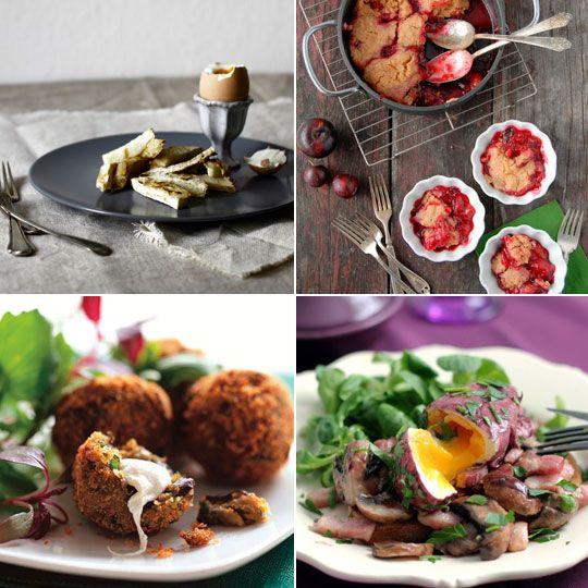... Crispy Eggplant Fritters with Smoked Mozzarella - Bon Appetit