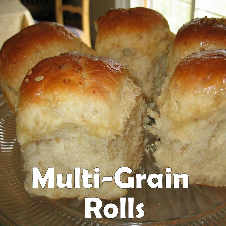 Multi-Grain Rolls using steel cut oats. | Food | Pinterest