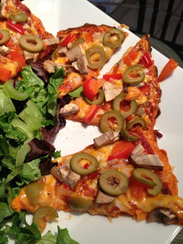 Carrot Pizza Crust (Grain-Free) | Recipe