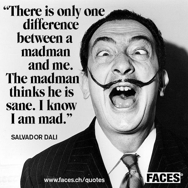 Salvador Dali Quotes. QuotesGram