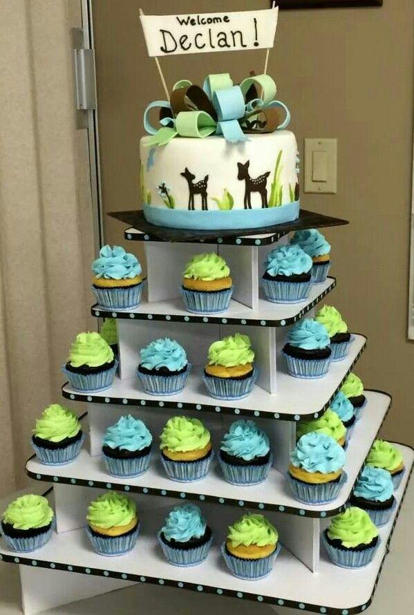 woodland animals baby shower cake cakes by me christine