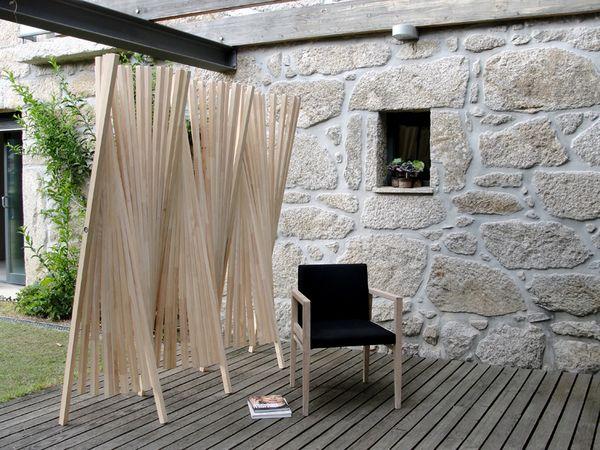 Utiliza biombos para crear rincones en tu casa decora y - Biombos para jardin ...