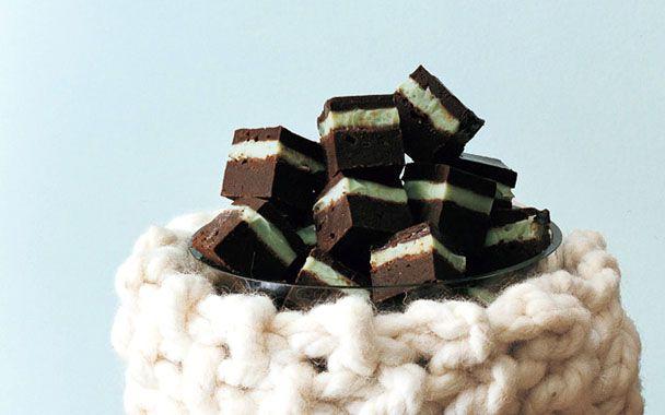 Grasshopper Squares | candy | Pinterest