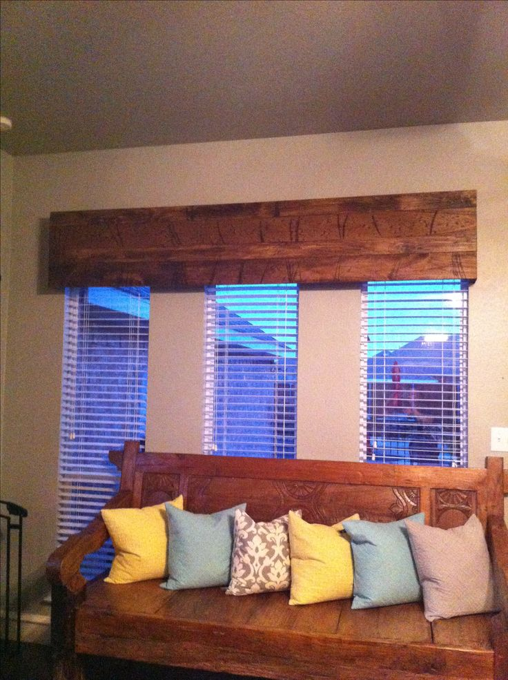 Distressed Wood Cornice Board 130 Diy Project By The