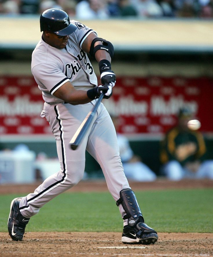 Frank Thomas - Hall of Famer | swing for the fences ...
