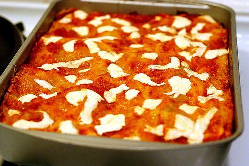 Fresh Pasta + Basic Tomato Sauce