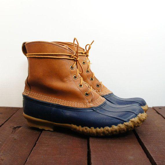 Ll bean duck boots preppy - photo#5
