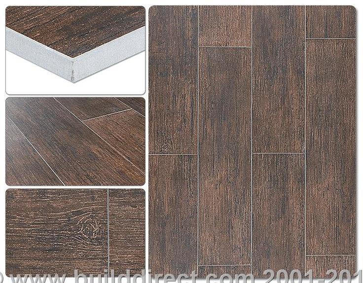 Wood Grain Tile Must Use Dark Grout Master Bath Pinterest