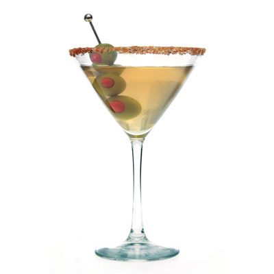 Extra Dirty Martini - my favorite cocktail.