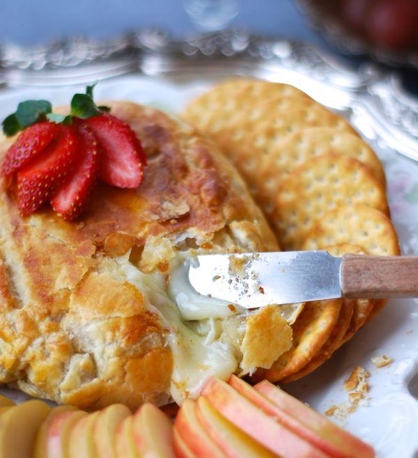 brie en croute | Dips | Pinterest