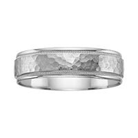 Fred Meyer Jewelers | Men's Engraved Wedding Band