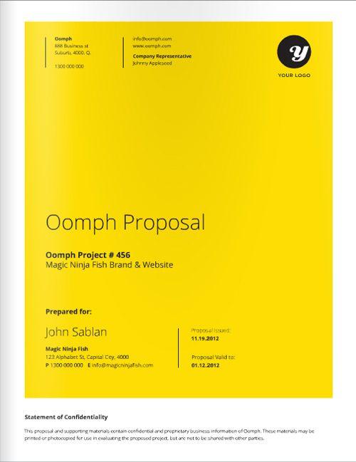 Design Proposals