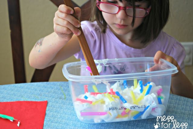Fine Motor Practice With Straws Get Ready For K Through Play