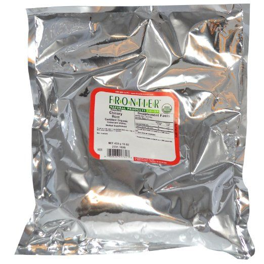 Frontier Natural Products Organic Chicory Root Roasted -- 16 oz ...