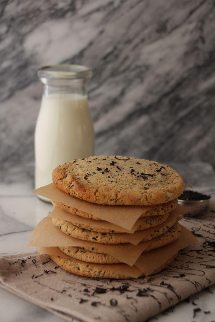 Earl Grey Tea Cookies | Healthy cookies, bars & slices (Vegan/Vegetar ...