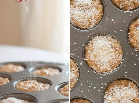 BANANA COCONUT MUFFINS. | Food | Pinterest
