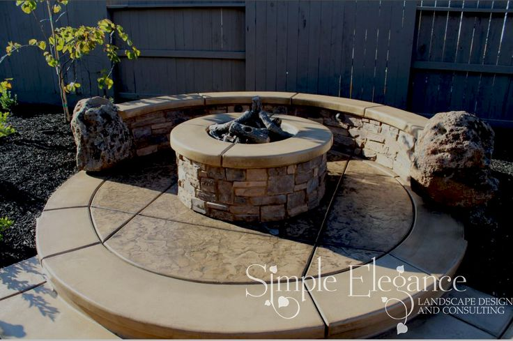 Pin by michelle akin on i wants pinterest for Eldorado stone fire pit