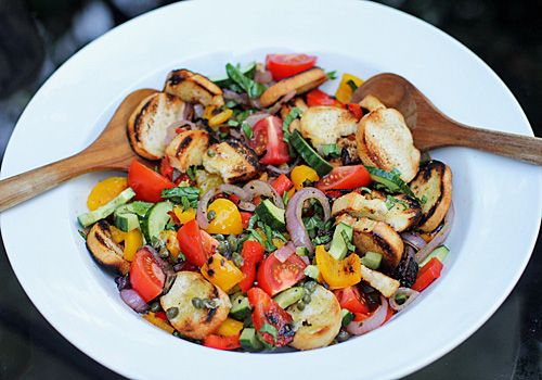 Grilled Panzanella | Recipes | Pinterest