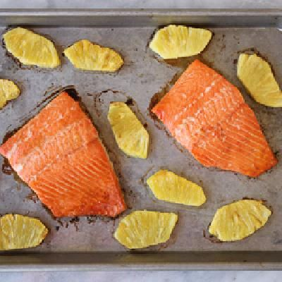 awesome Sweet and Spicy Pineapple Salmon | Quick And Easy Dinner Idea ...