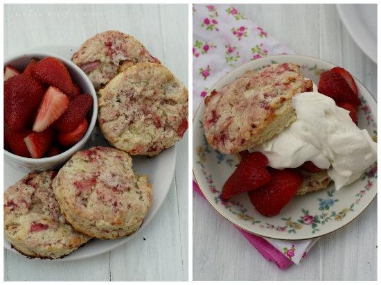 Strawberry Shortcake Scones