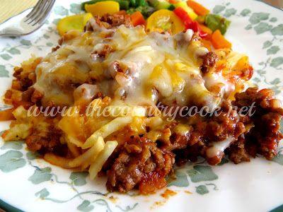 Crock Pot Sloppy Joe Casserole | Recipes | Pinterest