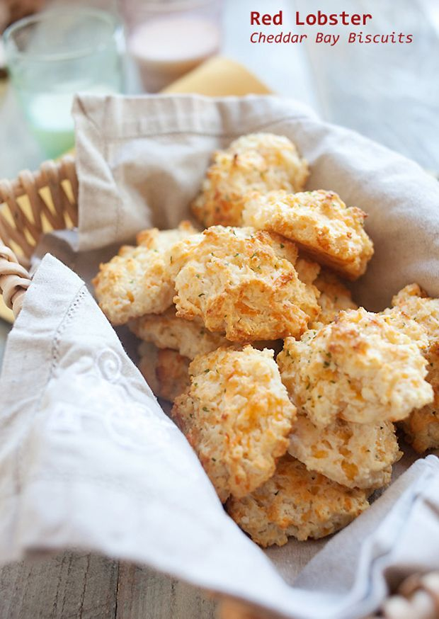 Red-Lobster-Cheddar-Bay-Biscuits | Cooking like a chef | Pinterest