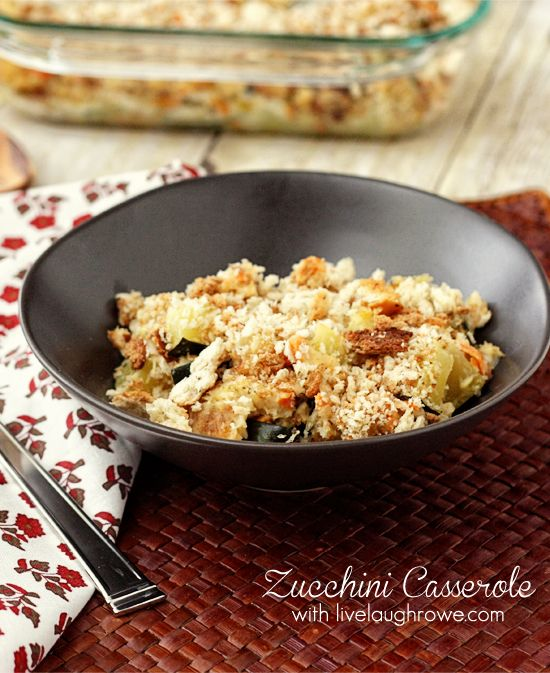 Zucchini Casserole (I'll be making this with homemade cream soup ...