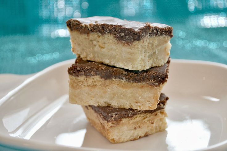 Chocolate Peanut Butter Shortbread Bars | Dessert (IS THE BEST PART ...