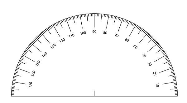 Gratifying image throughout printable protractor pdf