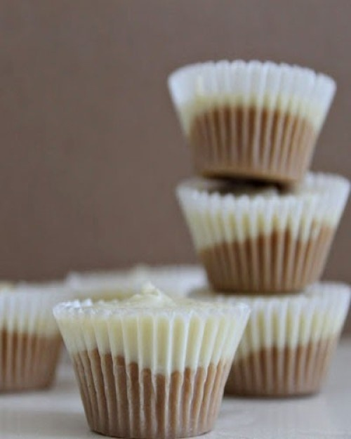 Easy White Chocolate Peanut Butter Cups | yum: how sweet it is! | Pi ...