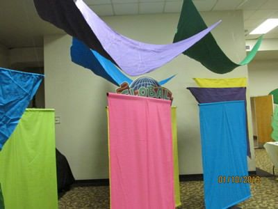 2013 VBS Colossal Coaster World Decorating Ideas Image  | 2013 vbs