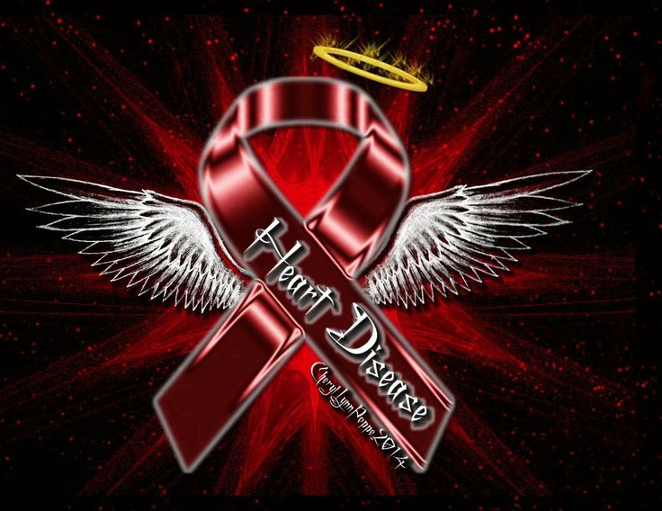 Congenital Heart Disease Ribbon Softland