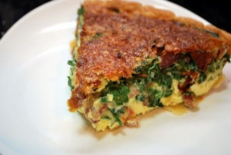 Spinach, Bacon and Swiss Quiche | Cooking: Yummy for the Tummy | Pint ...