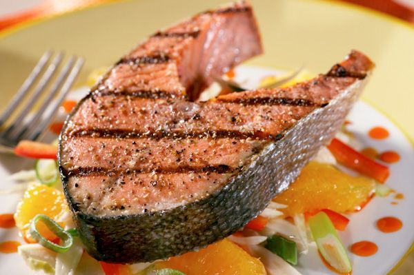 Simple grilled salmon | YUM | Pinterest