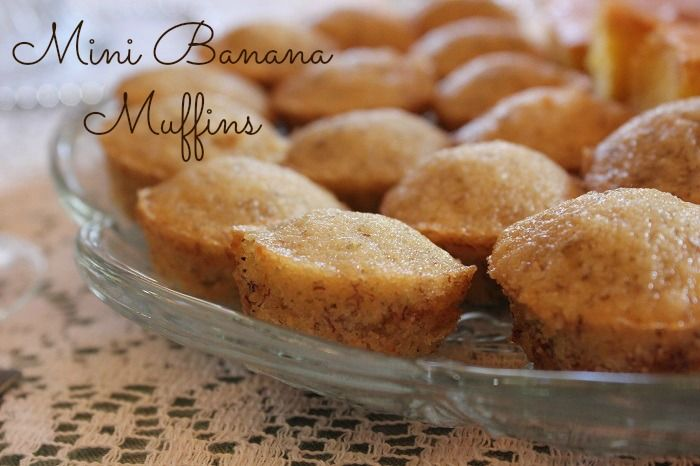 Mini Banana Muffins | Bread | Pinterest