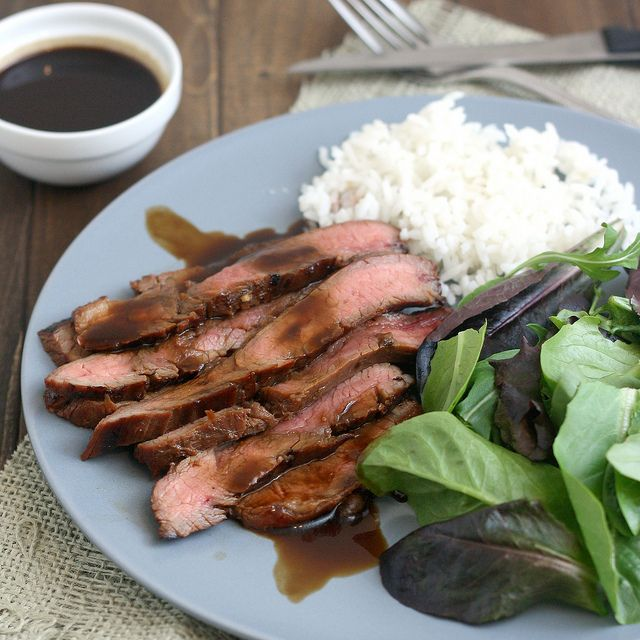 Bourbon and Brown Sugar Marinated Flank Steak by Tracey's Culinary ...