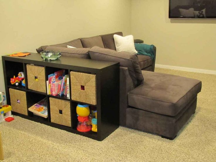 Basement Toy Storage Home Organization Pinterest