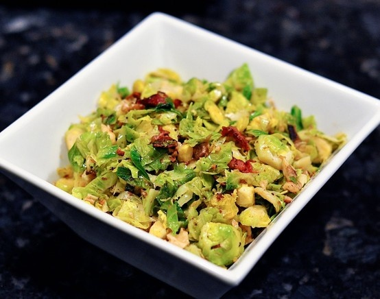 Brussel Sprouts with Bacon and Walnuts http://www.candcmarriagefactory ...