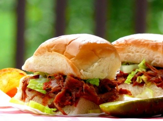 BBQ Short-Rib Sliders with Whiskey-Bacon Barbecue Sauce | Recipe