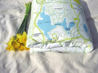 Beautiful keepsake baby quilts -- customize with locations {like birth city}