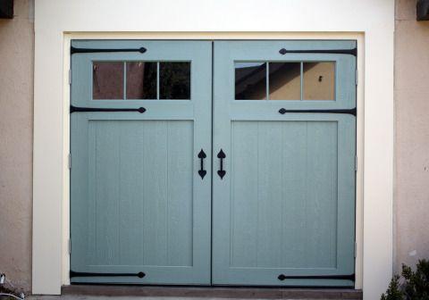 Garage doors barn envy pinterest for Convert two door garage into one