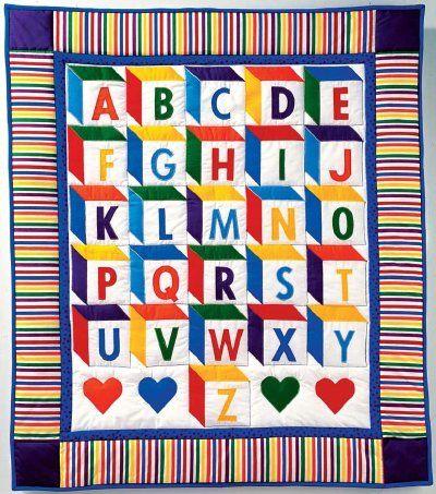 "TLC Home ""Baby Blocks Quilt Pattern"""