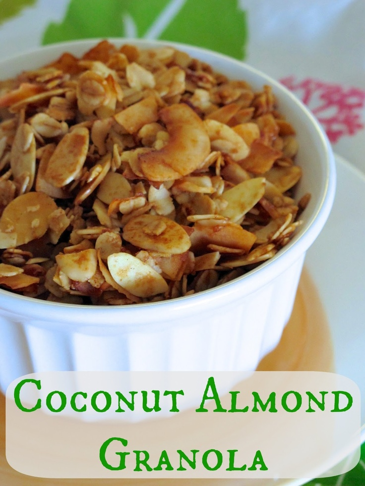 Almond & Coconut Granola Recipe — Dishmaps