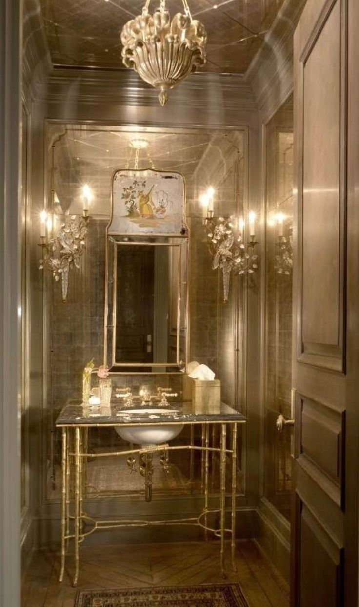 Pin By Nina Bounds On Small Powder Room Pinterest